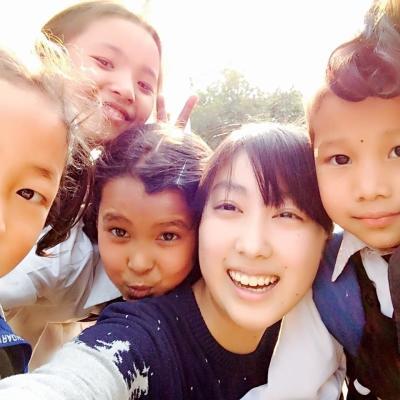 ネパールで教育 船橋祥子